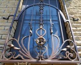 Кованые оконные решетки в Воронеже №42