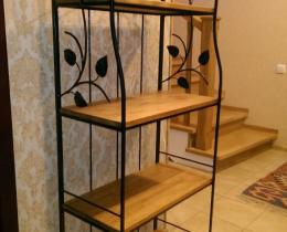 Кованые этажерки, стеллажи, консоли №3