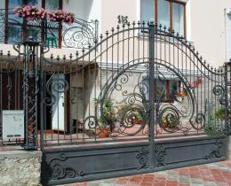 Кованые ворота в Воронеже №61