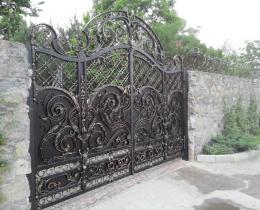 Кованые ворота в Воронеже №115