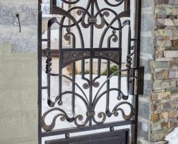 Кованые ворота в Воронеже №144