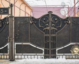 Кованые ворота в Воронеже №23
