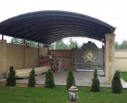 Кованые ворота в Воронеже №10