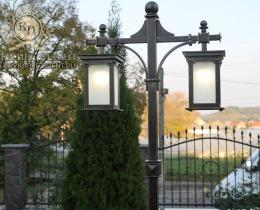 Кованые фонари в Воронеже №15