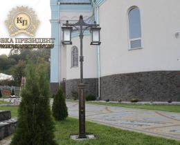 Кованые фонари в Воронеже №16