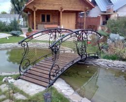 Кованый мостики в Воронеже №13