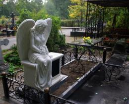 Кованые ритуальные изделия в Воронеже №11