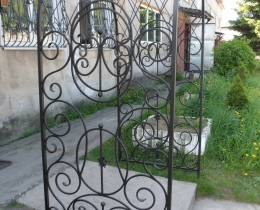 Кованые арки в Воронеже №117