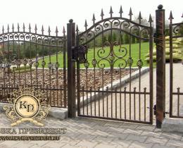 Кованые ворота в Воронеже №55