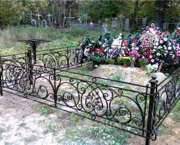 Кованые ритуальные изделия в Воронеже №18