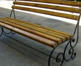 Кованые скамейки в Воронеже №96