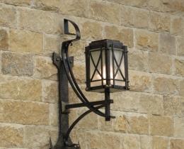 Кованые люстры, фонари, светильники, подсвечники №36