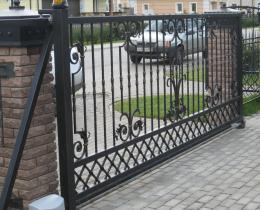 Кованые ворота в Воронеже №51