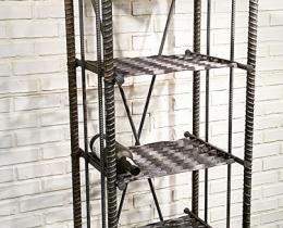 Кованые этажерки, стеллажи, консоли №84