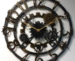 Кованые часы в Воронеже №37