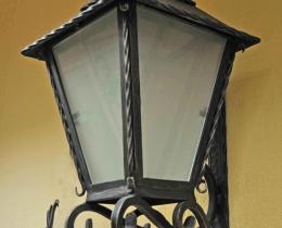Кованые люстры, фонари, светильники, подсвечники №17