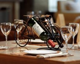 Кованые винницы, подставки под вино №8