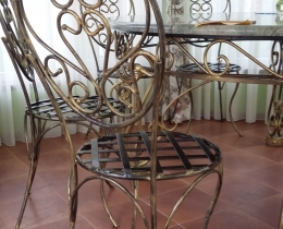 Кованые стулья в Воронеже №17