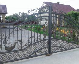 Кованые ворота в Воронеже №107