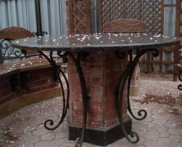 Кованые столы в Воронеже №81