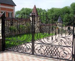 Кованые ворота в Воронеже №32