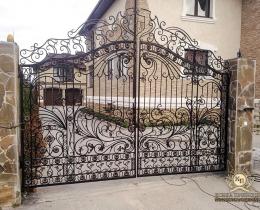 Кованые ворота в Воронеже №192