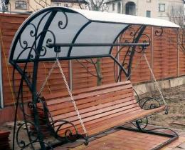 Кованые качели в Воронеже №50