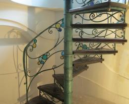 Кованые лестницы в Воронеже №69