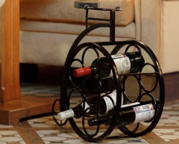 Кованые винницы, подставки под вино №12