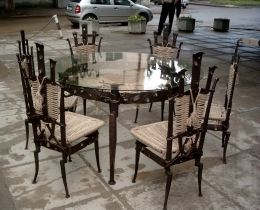 Кованые столы в Воронеже №91