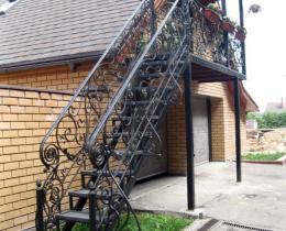 Кованые лестницы в Воронеже №68