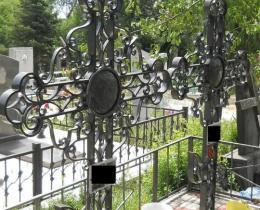 Кованые ритуальные изделия в Воронеже №34
