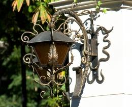 Кованые люстры, фонари, светильники, подсвечники №41