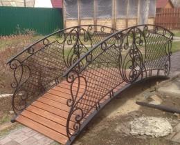 Кованый мостики в Воронеже №69