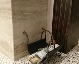 Кованые каминные наборы, дровницы, решетки №86