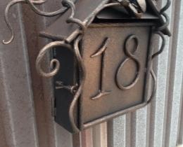 Кованые таблички, вывески, почтовые ящики №98