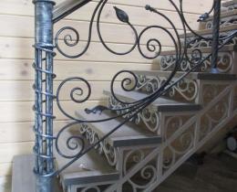 Кованые лестницы в Воронеже №16