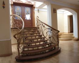 Кованые лестницы в Воронеже №1