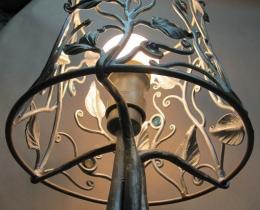 Кованые люстры, фонари, светильники, подсвечники №19
