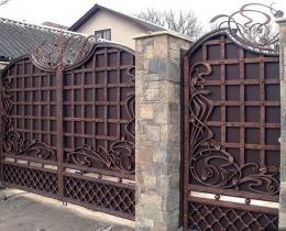 Кованые ворота в Воронеже №64