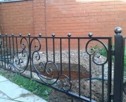 Кованые ограждения в Воронеже №57