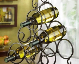 Кованые винницы, подставки под вино №20