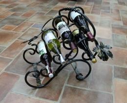 Кованые винницы, подставки под вино №21