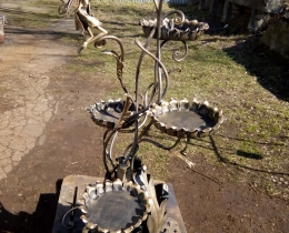 Кованые цветочницы в Воронеже №69