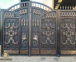 Кованые ворота в Воронеже №203