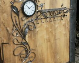 Кованые часы в Воронеже №57