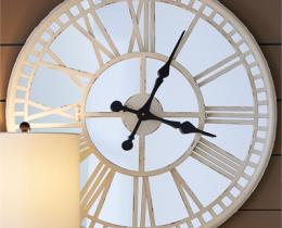 Кованые часы в Воронеже №2