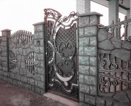 Кованые ворота в Воронеже №111