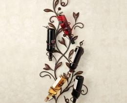 Кованые винницы, подставки под вино №23
