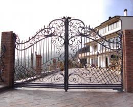 Кованые ворота в Воронеже №122